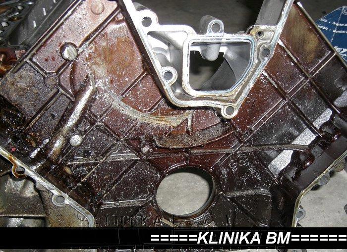 uszkodzony ślizg i zawory M62 BMW Alpina