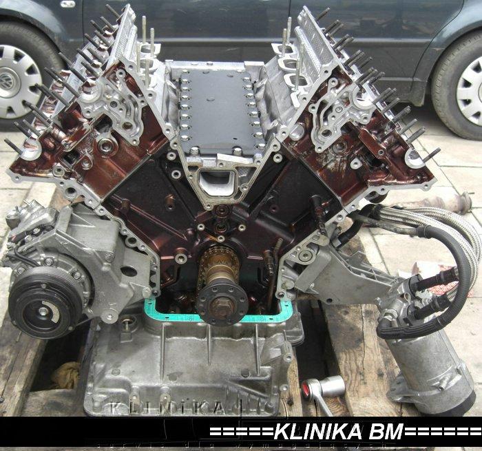 silnik M62 czyszczenie, dymi, stary olej