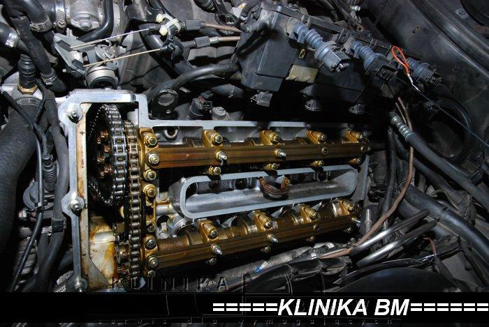 Wymiana uszczelek pokrywa zaworów Alpina B10 V8