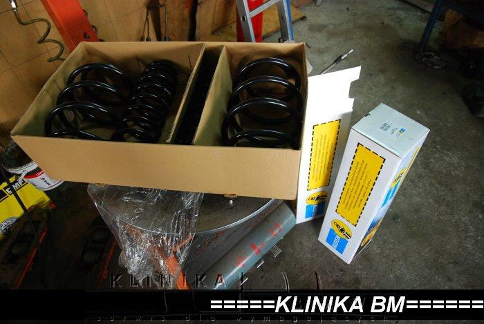 Alpina B10 V8 - montaż zawieszenie Bilstein B12