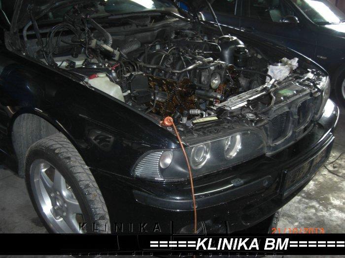 Motorraum M62 TU - Beisansystems V8 Vanosdichtringe