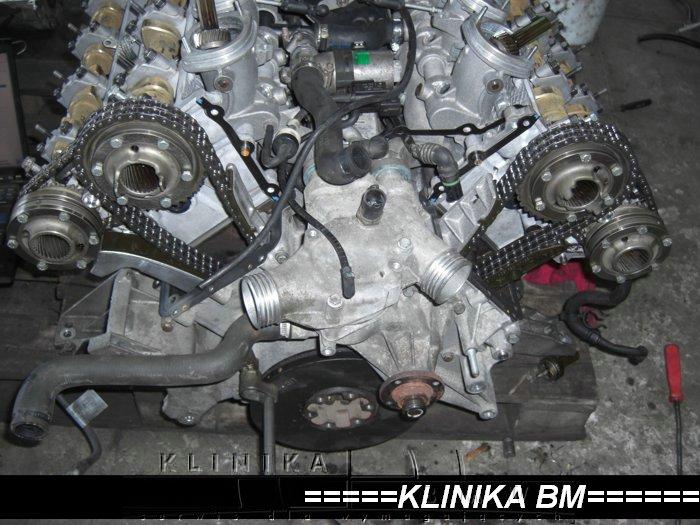 silnik s62 rozrząd BMW M5 e39