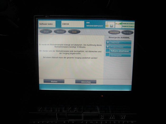 E46 inspekcja i programowanie