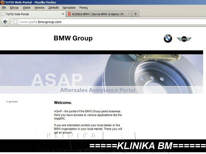 rozkodowanie numeru VIN BMW