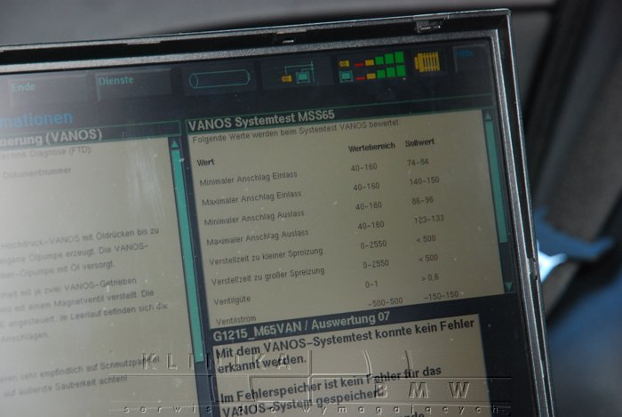E60 M5 serwis, naprawa, diagnostyka