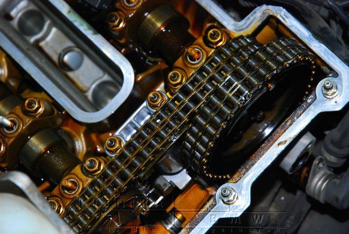 wymiana napinacza rozrządu M60