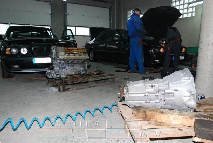 swap silnika M62