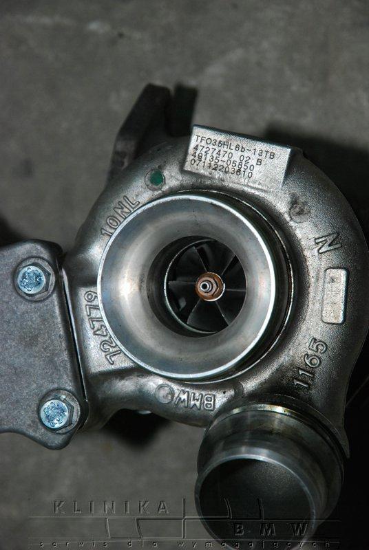 wymiana turbiny e60