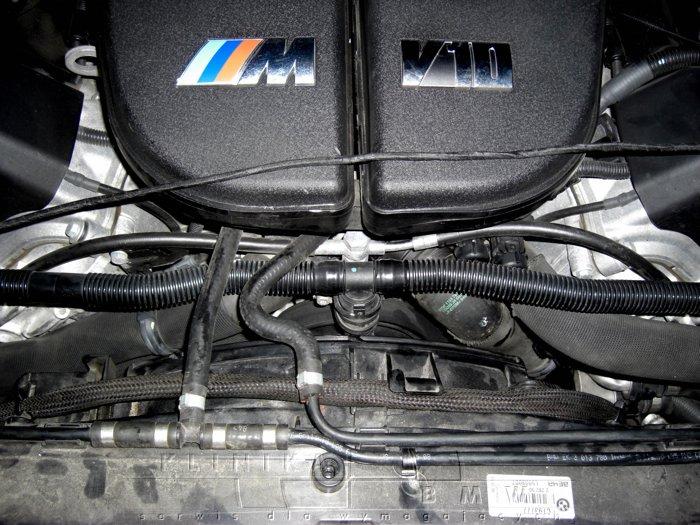 BMW M5 E60 naprawa